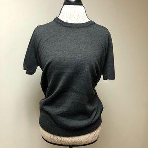 [6] Moncler wool blend blouse